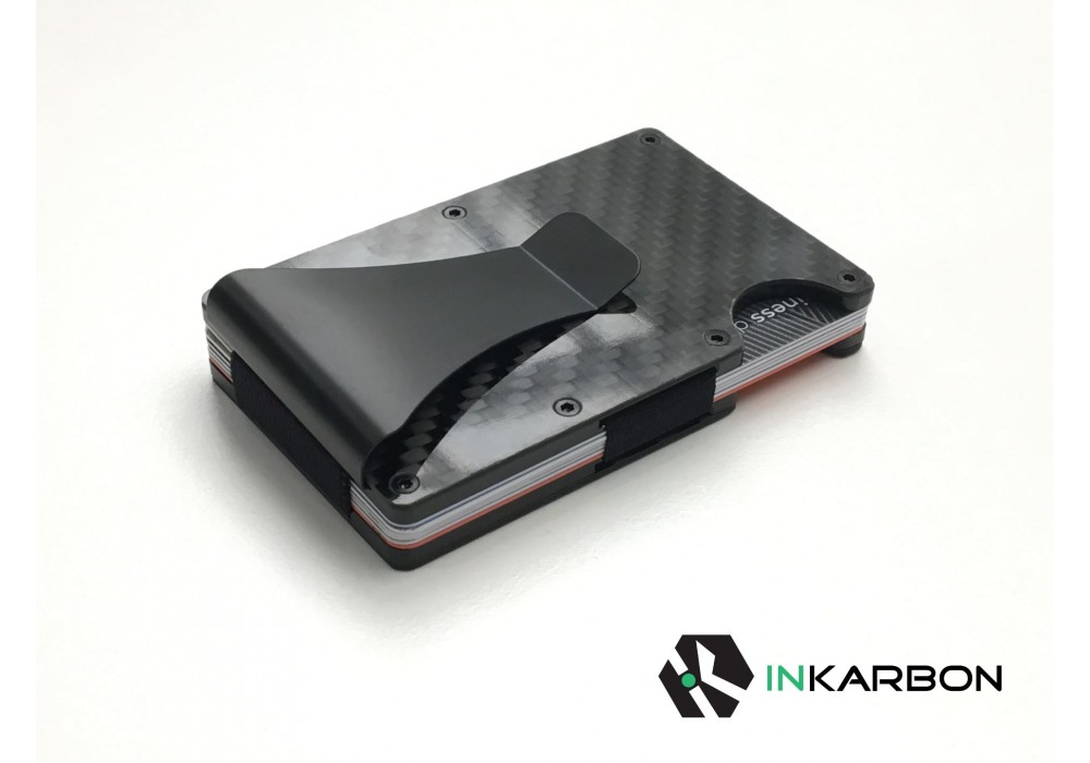 Carbon fibre card holder wallet with rfid blocking inkarbon carbon fibre card holderwallet with rfid blocking reheart Gallery