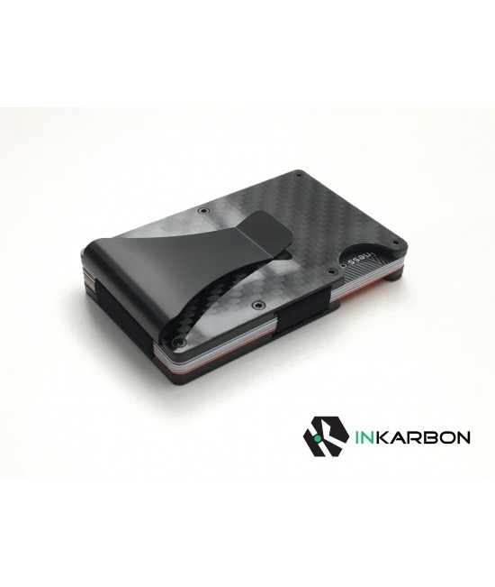Carbon Fibre Card Holder/Wallet with RFID Blocking